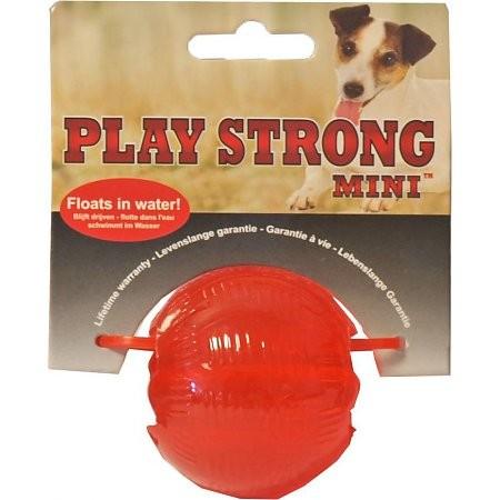 Playstrong Rubber Bal Mini voor honden