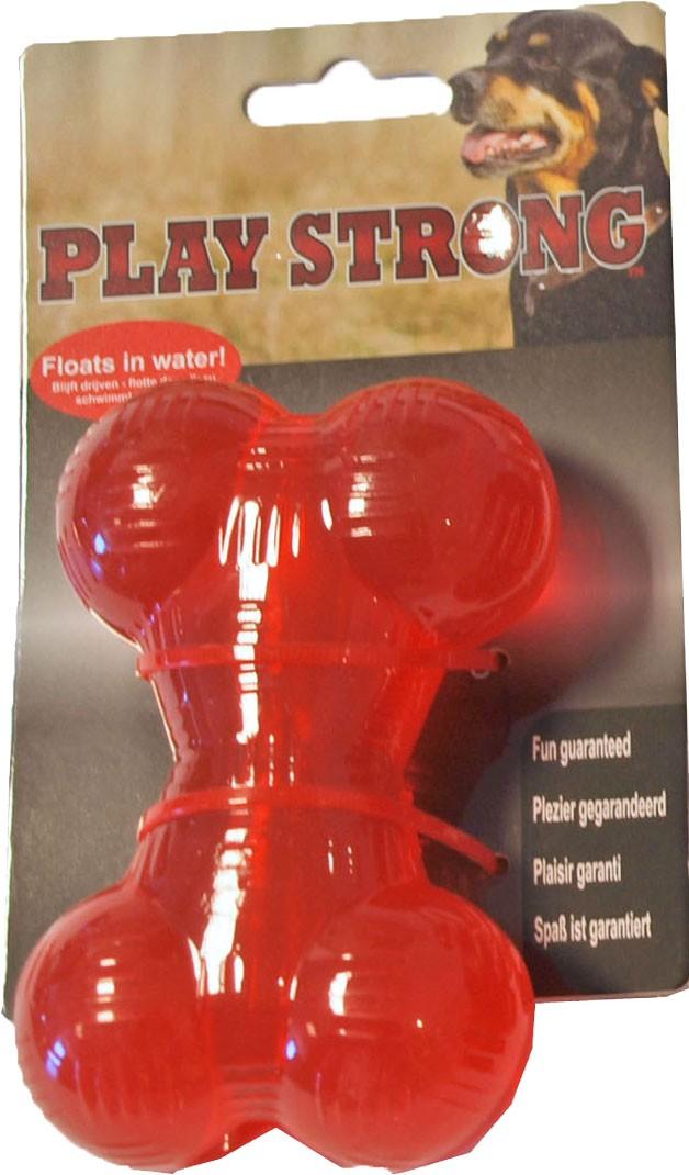 Playstrong Rubber Bot Klein voor honden