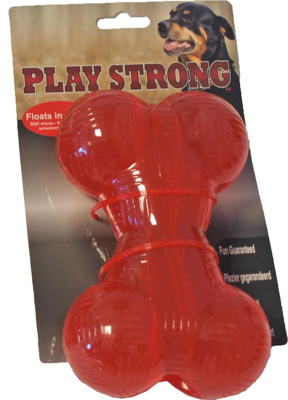 Playstrong Rubber Bot Groot voor honden