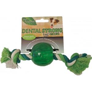 Dentalstrong Rubber Mini Bal voor honden Per stuk