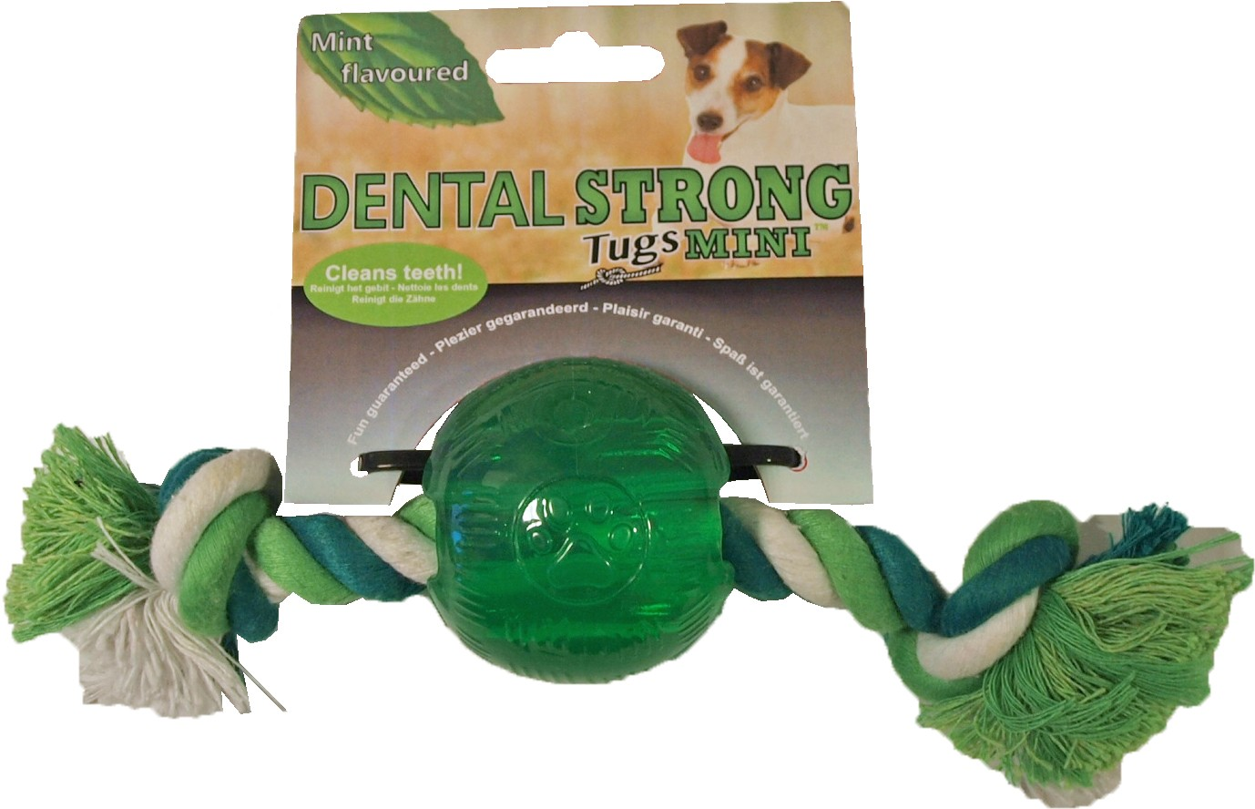Dentalstrong Rubber Mini Bal voor honden