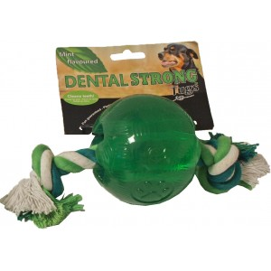Dentalstrong Rubber Bal Groot voor honden Per stuk