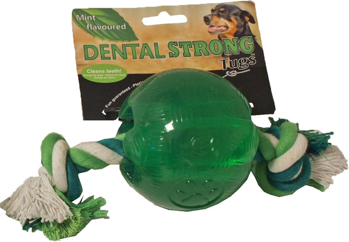 Dentalstrong Rubber Bal Groot voor honden