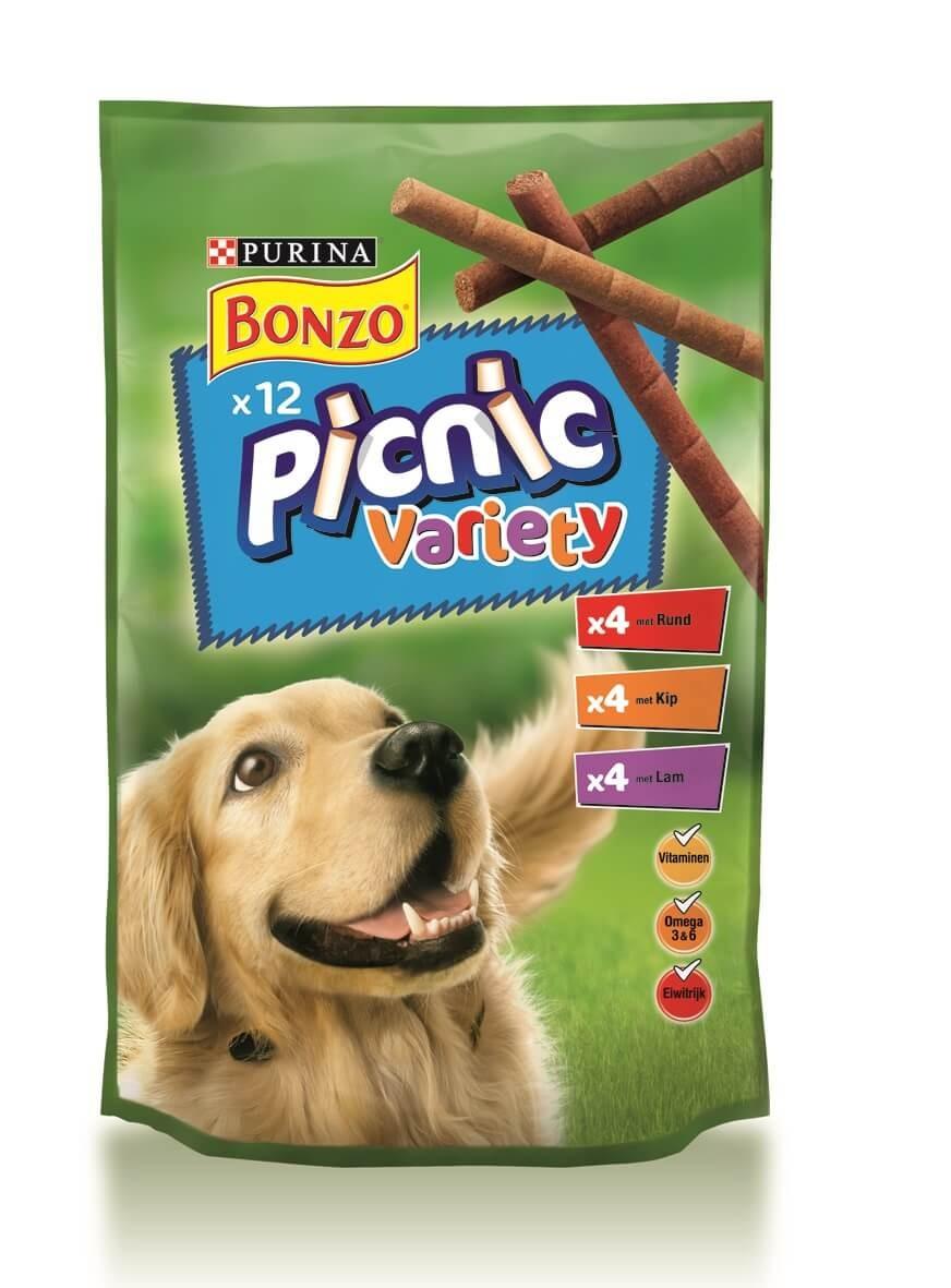 Bonzo Picnic Variety voor de hond