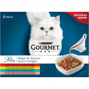 Gourmet Perle Sauce Delight (8x85gr) zakjes kat