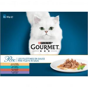 Gourmet Perle Classic (8x85gr) zakjes kat 5 dozen