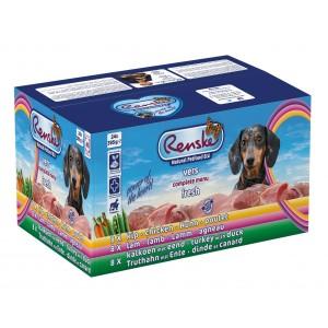 Renske Vers Multidoos (24 x 395 gr) hondenvoer 2 trays (48 x 395 gram)