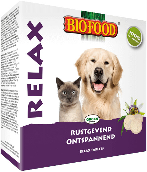 Biofood Relax Tabletten voor de hond en kat