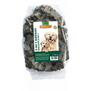 Biofood 3-in-1 koekjes voor de hond