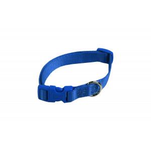 Nylon Halsband Blauw voor honden M