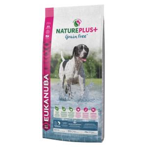 Eukanuba NaturePlus+ Adult Graanvrij Zalm hondenvoer 2 x 2,3 kg