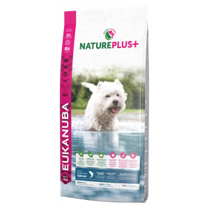 Eukanuba NaturePlus+ Adult Small Breed Zalm hondenvoer