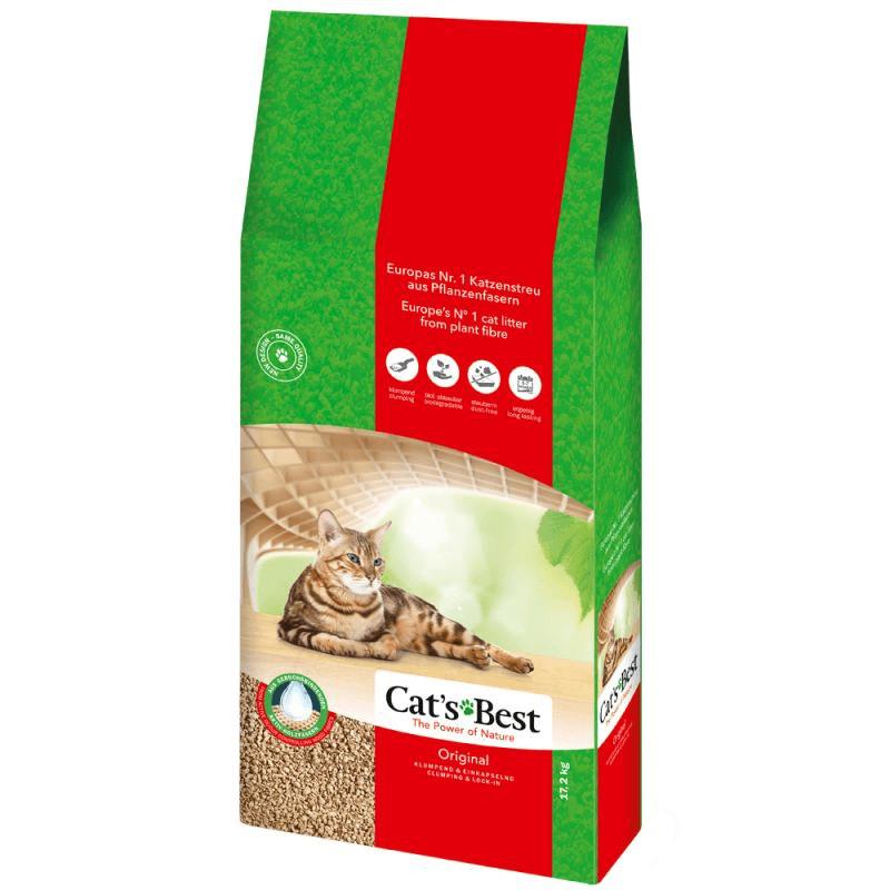 Cats Best Oko Plus Kattengrit 17,2 kg