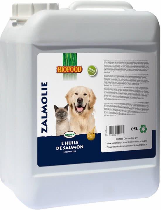 Biofood Zalmolie voor hond en kat