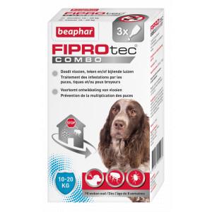 Beaphar FiproTec Combo hond 10-20 kg Anti-Vlo Per 3