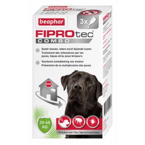 Beaphar FiproTec Combo hond 20-40 kg Anti-Vlo Per stuk