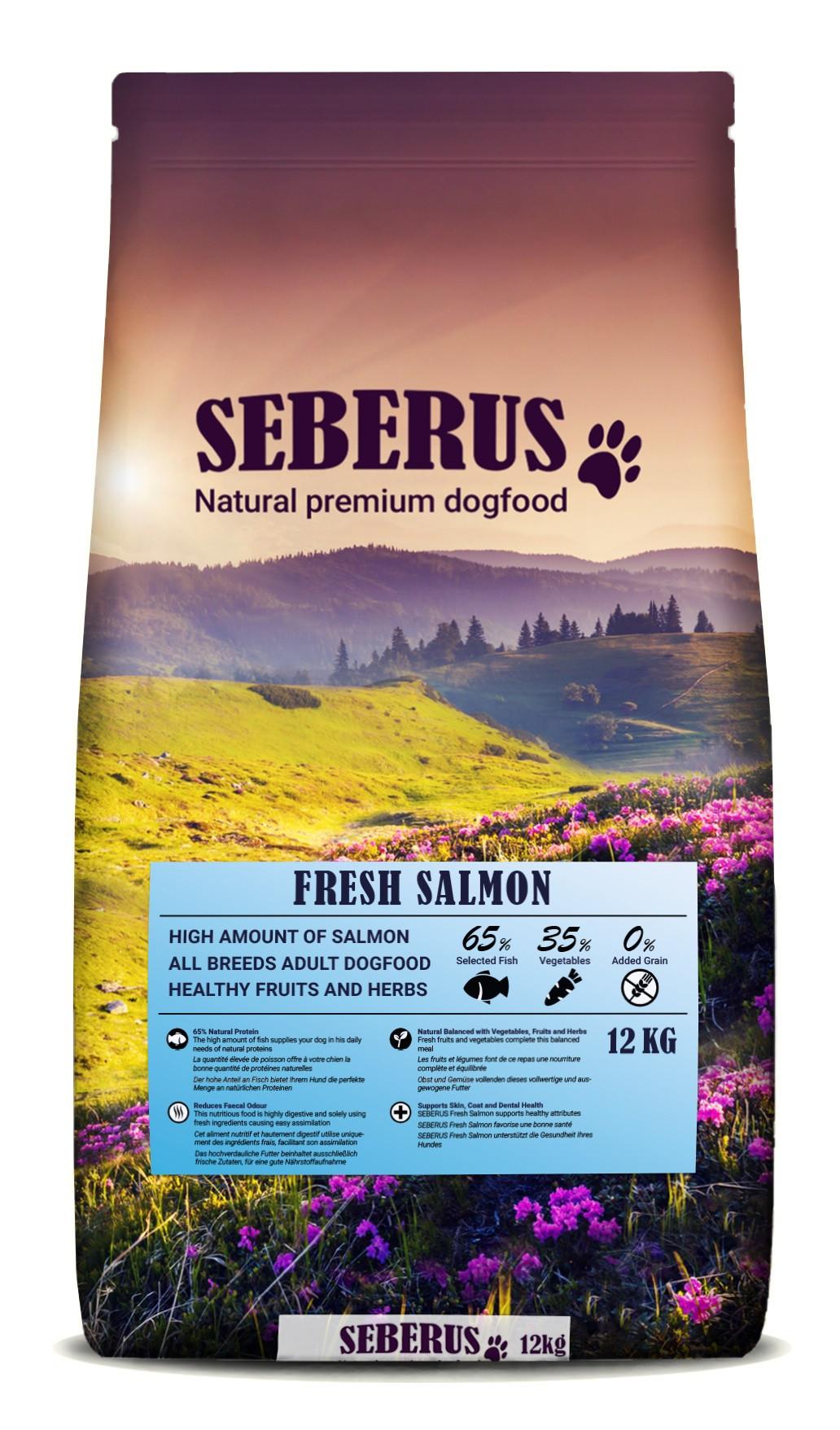 Seberus Fresh Salmon - natuurlijk graanvrij hondenvoer