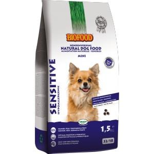 Afbeelding van 1.5 kg Sensitive Small Breed Biofood hondenvoer