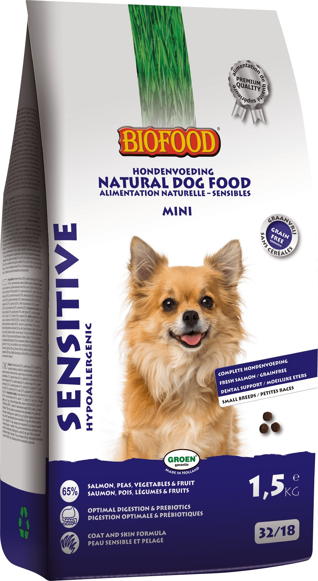Biofood Sensitive Small Breed hondenvoer