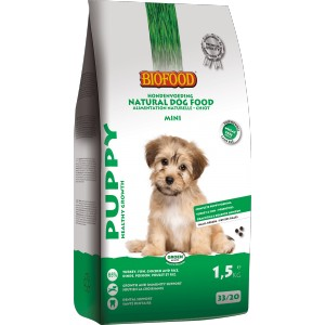 Biofood Puppy Small Breed hondenvoer