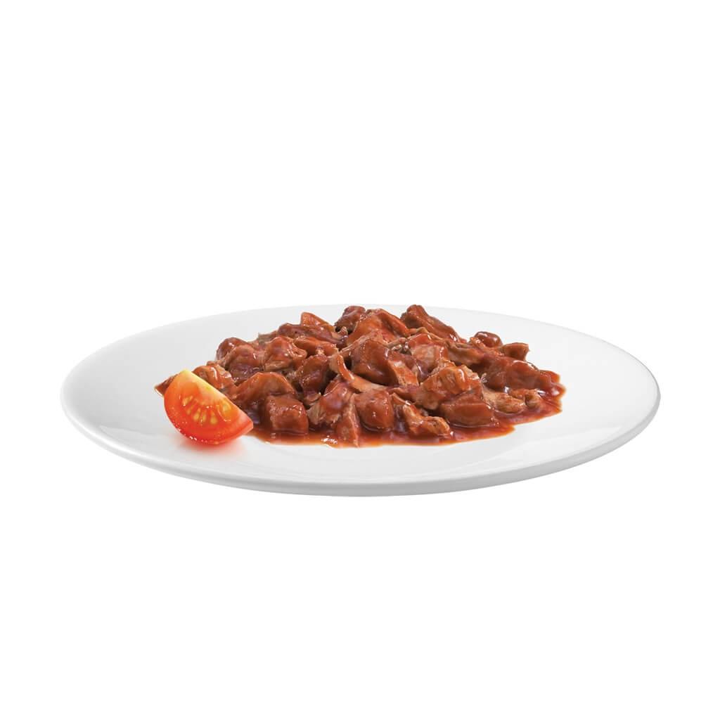 Gourmet Gold Les Cassolettes Duo van vlees in tomatensaus