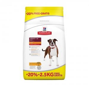Hill's Adult Medium Light Kip hondenvoer 12 kg