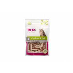 Truly for Cats - Chicken & Fish 50gr 3 x 50 gr