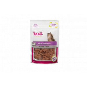 Truly for Cats - Mini Hearts Chicken & Fish 50gr 3 x 50 gr