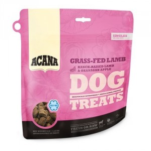 Acana Singles Grass-Fed Lamb hondensnacks 92 gram