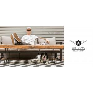 Wolfgang - Looplijn WhiteOwl 120 cm x 15mm - Hondenriem