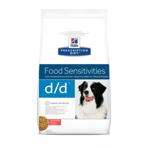 Hill's Prescription D/D Food Sensitivities zalm & rijst hondenvoer