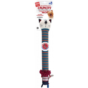 Crunchy Neck 'Plush Friendz' hondenspeelgoed OP is OP Leeuw