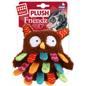 Puppy 'Plush Friendz' met Piep Hondenspeelgoed Leeuw