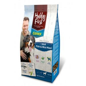 HobbyFirst Canex Adult Vis & Rijst Maxi hondenvoer 12 kg
