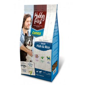 HobbyFirst Canex Adult Vis & Rijst hondenvoer 2 x 12 kg