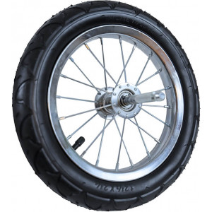 Reservewiel met band en reflectoren voor fietskar Runner Medium