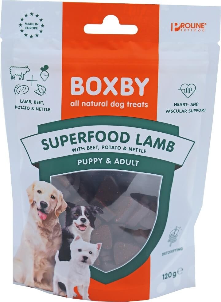 Boxby for dogs superfood 120 gram Lamb
