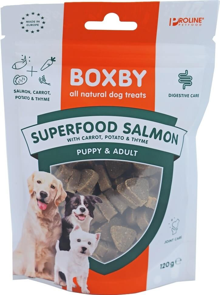 Boxby for dogs superfood 120 gram Salmon