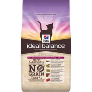 Afbeelding van 1.5 kg Ideal Balance Feline Adult No Grain Tonijn & Aardappel Hill's kattenvoer