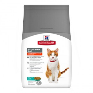 Hill's Sterilised Young Adult Tonijn kattenvoer 2 x 8 kg