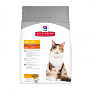 Hill apos s Urinary Health Hairball Control Adult kattenvoer 3 kg