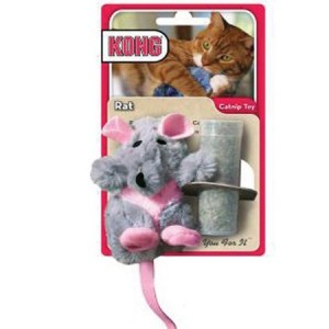 Kong Catnip Toy Rat Per stuk