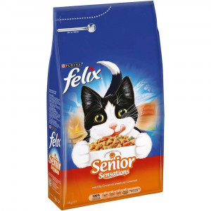 Felix Sensations Senior kattenvoer