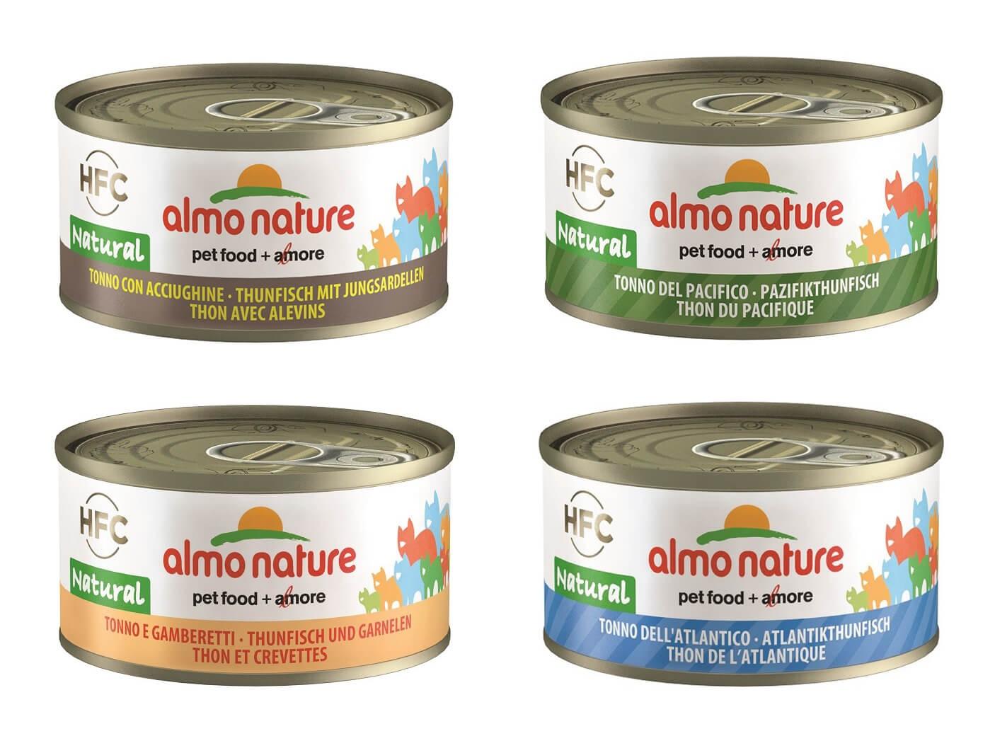 Almo Nature HFC Natural Combipack C Tonijn 24x70 gr