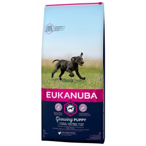 Eukanuba Growing Puppy Large Breed kip hondenvoer