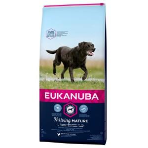 Afbeelding Eukanuba Thriving Mature Large Breed Kip hondenvoer 15 kg door Brekz.nl