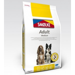 Smølke Adult Medium Hondenvoer 4 kg