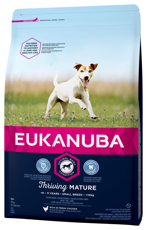 Eukanuba Thriving Mature Small Breed kip hondenvoer