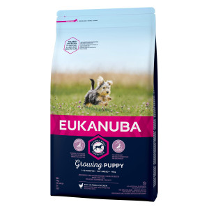 Eukanuba Growing Puppy Toy Breed kip hondenvoer