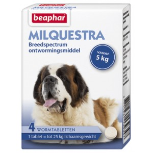 Beaphar Milquestra Ontwormingsmiddel hond (5-75 kg)